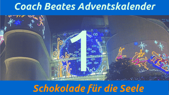Coach Beates Adventskalender - 1