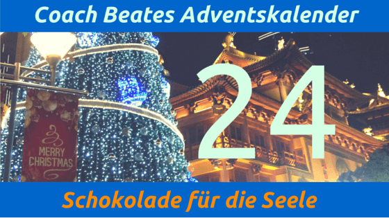 Coach Beates Adventskalender - 24